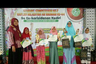 Siswa SD Plus Rahmat Borong Piala di Ar Rahman