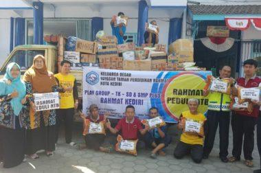 Distribusi Bantuan Rahmat Peduli NTB