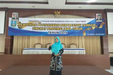 Librarian Rahmat Berprestasi bersama Jajaran Librarian Universitas Se-Jawa Timur